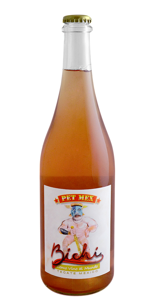 "Pétillant Naturel Rosé ""Pet Mex,"" Bichi"