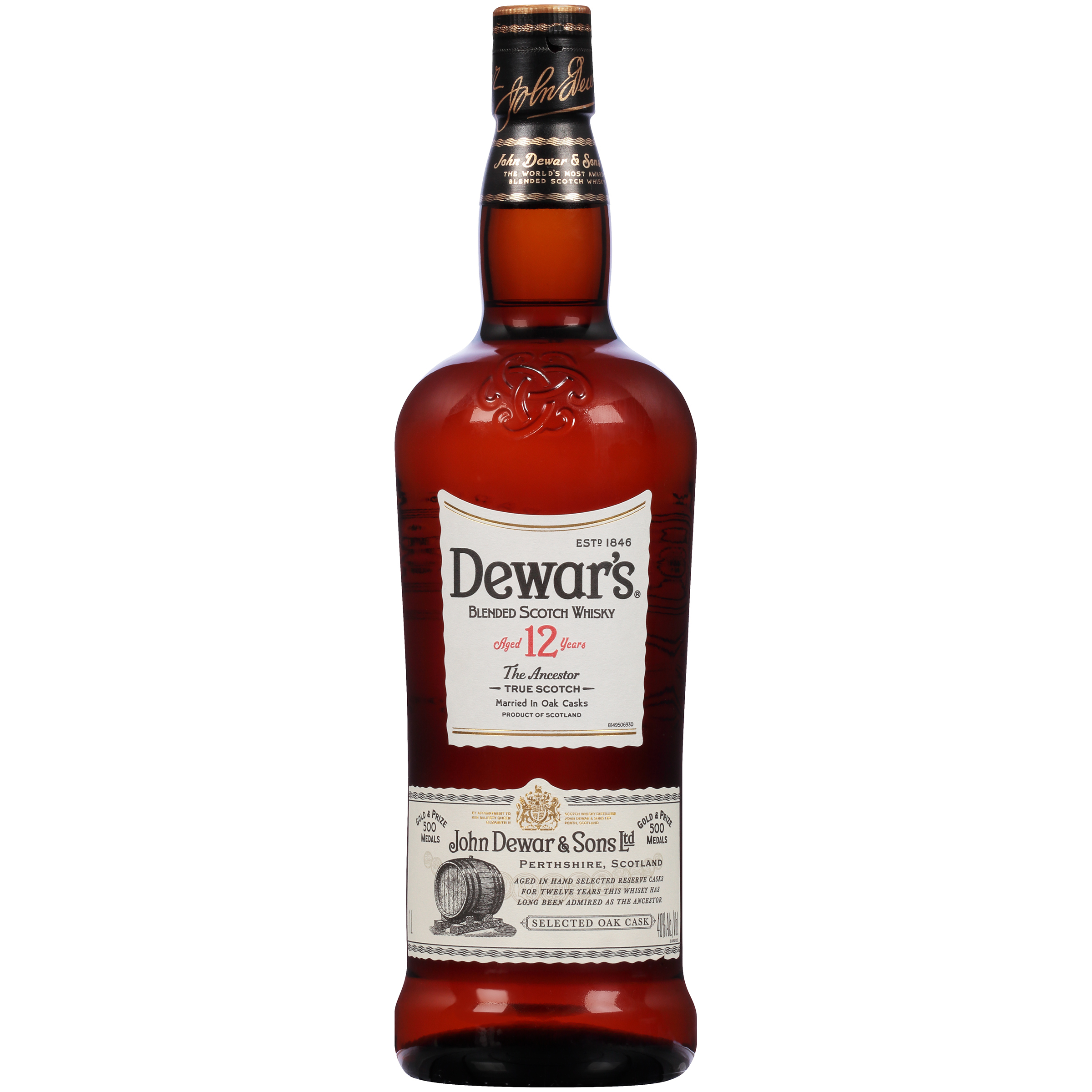 Dewar's 12 Year Ancestor Blended Scotch