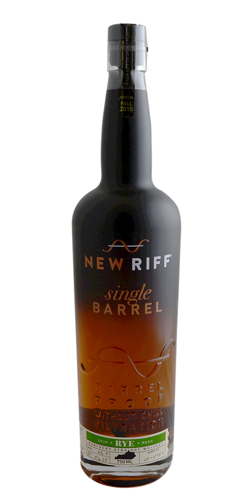 New Riff Single Barrel Rye Whiskey