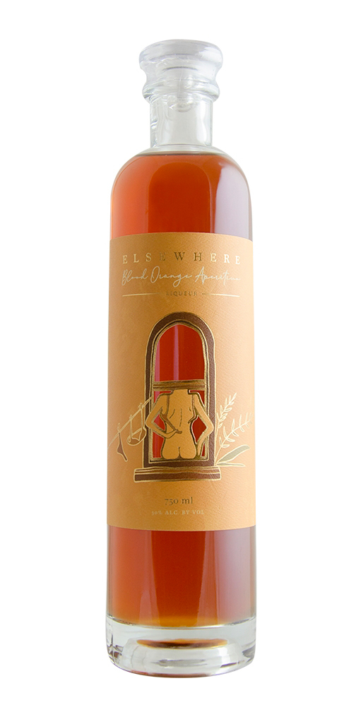 Elsewhere Blood Orange Aperitivo Liqueur by Matchbook Distilling Co.