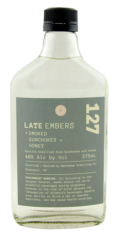 Late Embers Smoked Sunchokes & Honey Spirit by Matchbook Distilling Co.